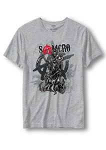 SONS OF ANARCHY T-SHIRT ANARCHY REAPER