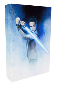 Photo du produit VEILLEUSE STAR WARS EPISODE VIII 3D REY 30 CM