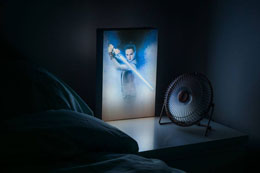 Photo du produit VEILLEUSE STAR WARS EPISODE VIII 3D REY 30 CM Photo 1