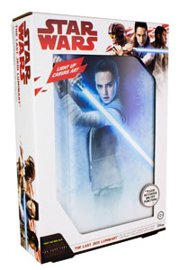 Photo du produit VEILLEUSE STAR WARS EPISODE VIII 3D REY 30 CM Photo 2