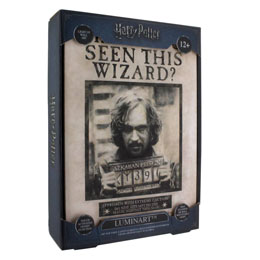 Photo du produit VEILLEUSE HARRY POTTER LUMINART SIRIUS BLACK 30 CM Photo 1