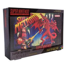 VEILLEUSE SUPER NINTENDO SUPER METROID 30 CM
