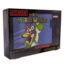 VEILLEUSE SUPER NINTENDO SUPER MARIO WORLD 30 CM
