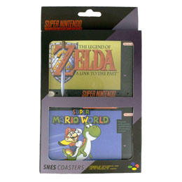 Photo du produit SUPER NINTENDO PACK 4 SOUS-VERRES Photo 1