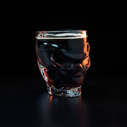 VERRE CALL OF DUTY SHAPED SKULL