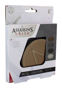 Photo du produit PACK 4 SOUS-VERRES ASSASSIN'S CREED Photo 1