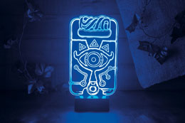 LEGEND OF ZELDA BREATH OF THE WILD LAMPE SHEIKAH SLATE