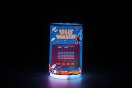 Photo du produit SPACE INVADERS LAMPE PROJECTION 10 CM