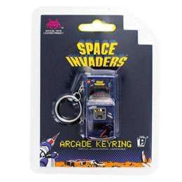 Photo du produit SPACE INVADERS PORTE-CLE 3D ARCADE MACHINE Photo 1