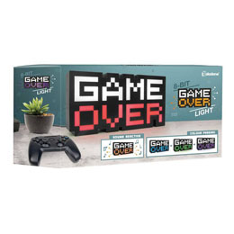 GAME OVER VEILLEUSE 8-BIT 30 CM