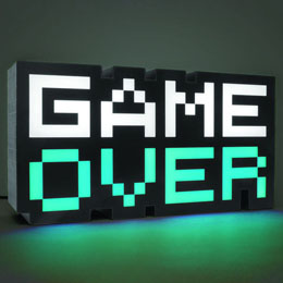 Photo du produit GAME OVER VEILLEUSE 8-BIT 30 CM Photo 2