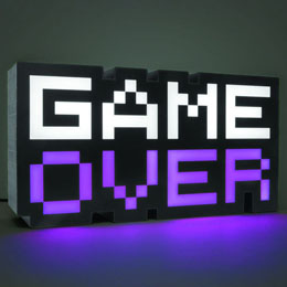 Photo du produit GAME OVER VEILLEUSE 8-BIT 30 CM Photo 3