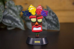 Photo du produit CRASH BANDICOOT VEILLEUSE 3D ICON AKU AKU 10 CM Photo 1