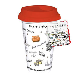 FRIENDS MUG DE VOYAGE CENTRAL PERK