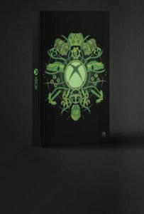 XBOX CAHIER LUMINEUX LOGO