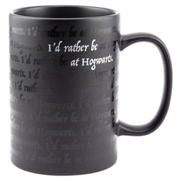 HARRY POTTER MUG I WOULD RATHER BE AT HOGWARTS