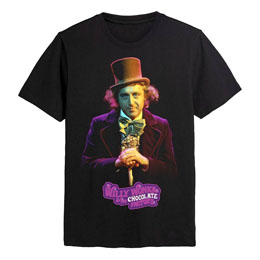 CHARLIE ET LA CHOCOLATERIE (1971) T-SHIRT WILLY WONKA