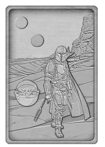 STAR WARS THE MANDALORIAN LINGOT ICONIC SCENE COLLECTION THE MANDALORIAN LIMITED EDITION