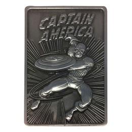 Marvel Lingot Captain America Limited Edition