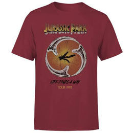 JURASSIC PARK T-SHIRT LIFE FINDS A WAY TOUR