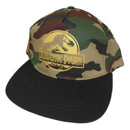 Jurassic Park casquette hip hop Gold Logo Camo
