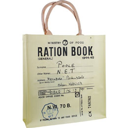 SAC SHOPPING RETRO RATION BOOK - ROBERT OPIE