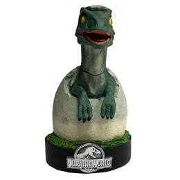 Photo du produit JURASSIC WORLD STATUETTE PREMIUM MOTION BLUE RAPTOR HATCHLING 19 CM Photo 1