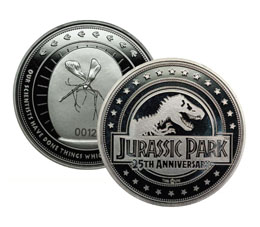 PIECE DE COLLECTION JURASSIC PARK 25TH ANNIVERSARY