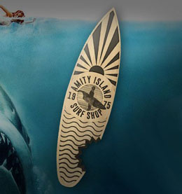 DECAPSULEUR LES DENTS DE LA MER AMITY ISLAND SURF SHOP