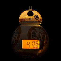 Photo du produit STAR WARS REVEIL LUMINEUX BULBBOTZ BB-8 14 CM Photo 1