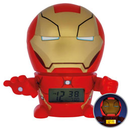 MARVEL REVEIL LUMINEUX BULBBOTZ IRON MAN 14 CM