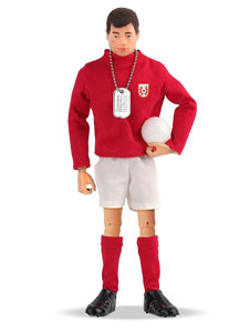 FIGURINE ACTION MAN 50TH ANNIVERSARY FOOTBALLER 25 CM