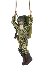 Photo du produit FIGURINE ACTION MAN 50TH ANNIVERSARY PARATROOPER 30 CM Photo 3