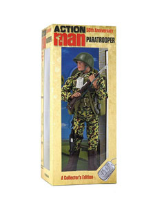 Photo du produit FIGURINE ACTION MAN 50TH ANNIVERSARY PARATROOPER 30 CM Photo 4