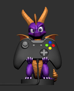 Photo du produit SPYRO THE DRAGON CABLE GUY SPYRO 20 CM Photo 1