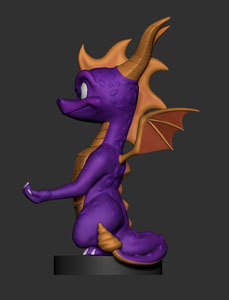 Photo du produit SPYRO THE DRAGON CABLE GUY SPYRO 20 CM Photo 2
