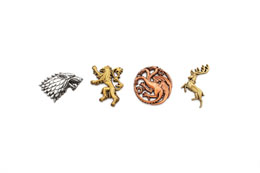 Photo du produit GAME OF THRONES PACK 4 PIN'S MAIN HOUSES Photo 2