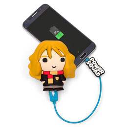 CHARGEUR HARRY POTTER HERMIONE POWER BANK POWERSQUAD 2500MAH