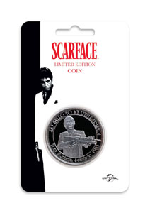 Photo du produit SCARFACE PIÈCE DE COLLECTION THE WORLD IS YOURS Photo 1
