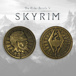 THE ELDER SCROLLS V SKYRIM PIÈCE DE COLLECTION THE EMPIRE IS LAW