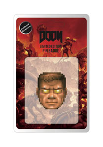 DOOM PIN'S FACE