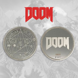 DOOM PIÈCE DE COLLECTION LOGO