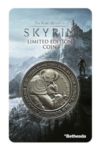 THE ELDER SCROLLS V SKYRIM PIÈCE DE COLLECTION DRAGONBORN
