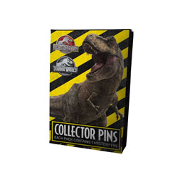 Photo du produit COFFRET 12 PIN'S JURASSIC PARK + PRESENTOIR Photo 1