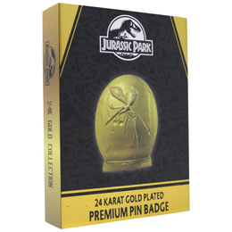 Photo du produit JURASSIC PARK PIN'S XL PREMIUM (PLAQUÉ OR) Photo 1