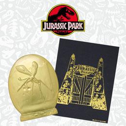 Photo du produit JURASSIC PARK PIN'S XL PREMIUM (PLAQUÉ OR) Photo 3