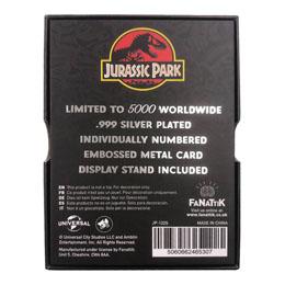Photo du produit Jurassic Park réplique Metal Entrance Gates (plaqué argent) Photo 4