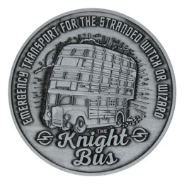 Harry Potter médaillon Knight Bus Limited Edition
