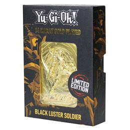 Photo du produit YU-GI-OH! RÉPLIQUE CARD BLACK LUSTER SOLDIER (PLAQUÉ OR) Photo 1