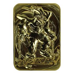 YU-GI-OH! RÉPLIQUE CARD EXODIA THE FORBIDDEN ONE (PLAQUÉ OR)